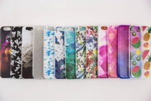 iPhone Hüllen in verschiedenen Farben