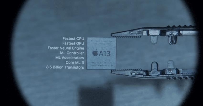 iPhone 11 A13 CPU
