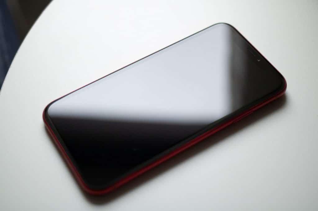 iPhone Dunkler Bildschirm