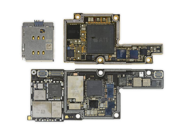 iPhone X Board Swap