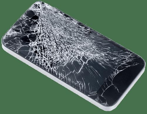 iPhone mit physischem Schaden