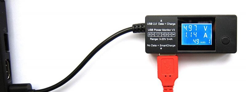 USB Amperemeter