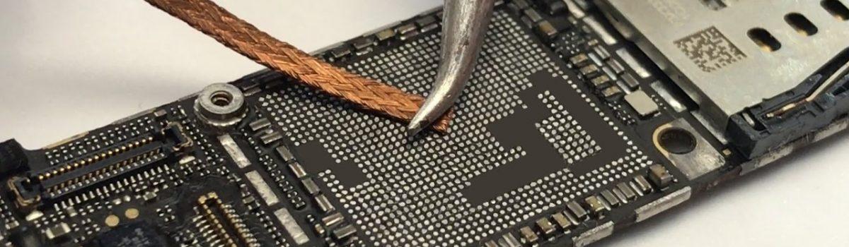 iphone a7 CPU reball